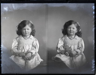 Little Girl Verling-Brown, 11 Dec 1911 (age 3½ )